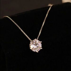 New 925 sterling silver AAA Zircon CZ diamond